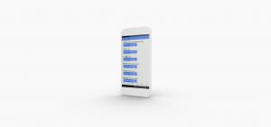 RLS App - Restless Legs Syndrome Mobile App mockup